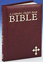 Bible-Catholic Child's, Maroon
