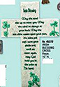 "Cross- 10"", Irish Blessing"