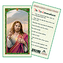 Holy Card-Christ