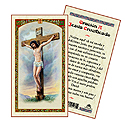 Holy Card-Crucifix