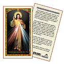 Holy Card-Divine Mercy