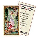 Holy Card-Guardian Angel