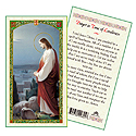 Holy Card-Jesus And Bethlehem
