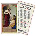 Holy Card-Jesus Healing