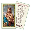 Holy Card-Jesus Lost Lamb