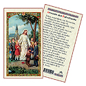 Holy Card-Jesus With Children