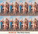 Holy Card-Printed, Holy Family