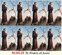 Holy Card-Printed, St Francis