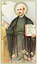 Holy Card-Printed, St Ignatius