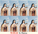 Holy Card-Printed, St Theresa