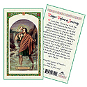 Holy Card-St Christopher