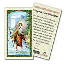 Holy Card-St Cristopher