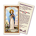 Holy Card-St Lucy