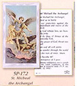 Holy Card-St Michael