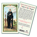 Holy Card-St Peregrine
