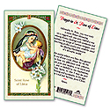 Holy Card-St Rose Of Lima