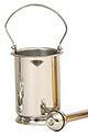 Holy Water Pot & Sprinkler-Stainless