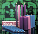Advent Candles, Plain