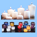 Votive Candles for Hourly Burning