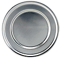 "Paten Only, Pewter,  6"", Satin"