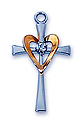 Pendant-Cross With Heart