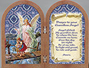 Plaque-Guardian Angel Diptych