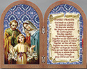 Plaque-Holy Family Diptych