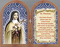 Plaque-St Theresa Diptych